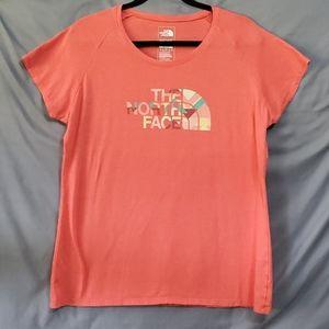 The North Face ladies melon color tshirt